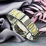 Pandora 6301 Z Diamonds Silver-Gold-Silver, фото 5