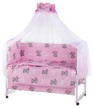 KM623043 Детская постель Qvatro Gold RG-08 рисунок розовая (IT'S A GIRL)