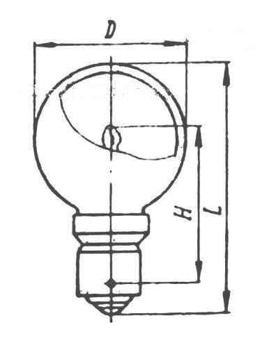 Лампа железнодорожная светофорная ЖС10-10 ЛИСМА B15s