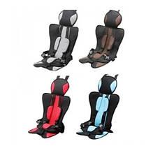 KMKRESLO 2 Детское автомобильное бескаркасное кресло чехол бустер Child car seat(красн,синий,коичн,серый)