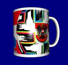 Кружка / чашка Евро 2020, сборная Австрии