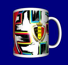 Кружка / чашка Евро 2020, сборная Бельгии
