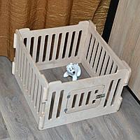 Домашний вольер (манеж) для щенков и маленьких собачек. 4 секции., фото 1