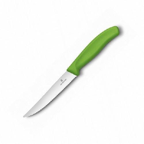 Ніж кухонний Victorinox SwissClassic для піци 12 см  зелений