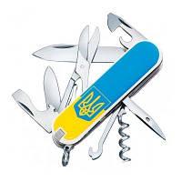 Ніж Victorinox Climber Ukraine 1.3703.7R3 тізуб ж / б