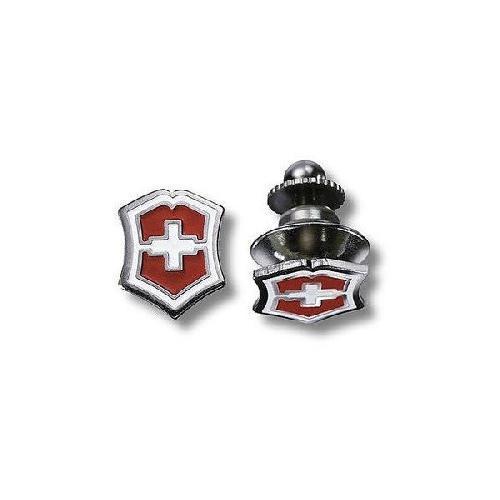 """Значок Victorinox """"Swiss emblem"""" червоний (бонусний)"""