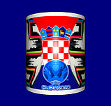 Кружка / чашка Евро 2020, сборная Хорватии, фото 3