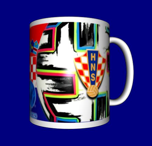 Кружка / чашка Евро 2020, сборная Хорватии