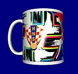 Кружка / чашка Евро 2020, сборная Хорватии, фото 4