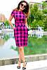 Модное трендовое платье в клетку, фото 6