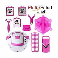 Овощерезка Multi Salad Chef Мульти Салад Чиф 13 в 1 Универсальная, фото 1