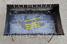 """Мангал валізу металевий на 10 шампурів (""""2"""" мм)"""