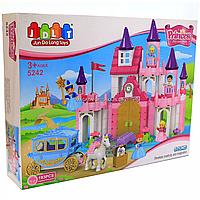 Конструктор JDLT «Замок принцессы», 193 детали, звук (5242), фото 1