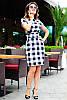 Модное трендовое платье в клетку, фото 2