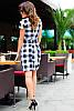Модное трендовое платье в клетку, фото 3