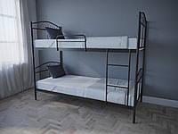 Кровать MELBI Элис Люкс Двухъярусная 90х190 см Коричневый, КОД: 1389610