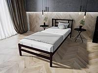 Кровать MELBI Берта Односпальная 90190 см Бордовый лак КМ-023-01-3бор, КОД: 1393905