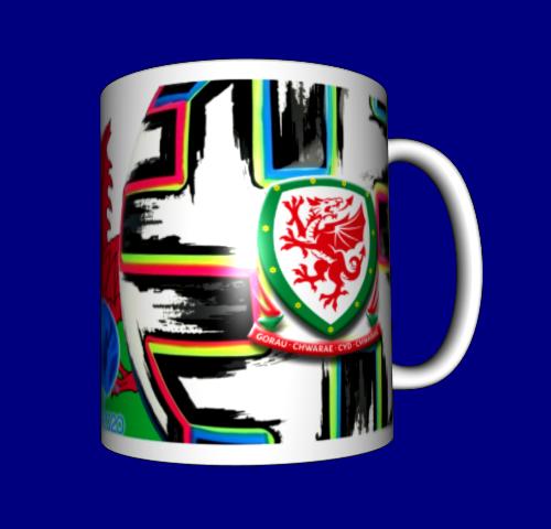 Кружка / чашка Евро 2020, сборная Уэльса