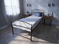 Кровать MELBI Селена Односпальная 90200 см Бордовый лак КМ-022-01-4бор, КОД: 1429189