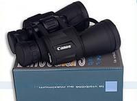 Мощный водонепроницаемый бинокль Canon 20x50 с защитным клапаном линз, фото 1