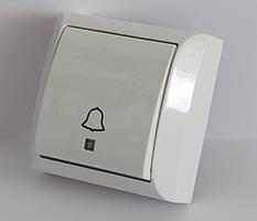 2203  LXL  TERRA  білий  Кнопка дзвінка з підсвіткою