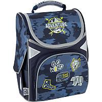 Школьный рюкзак GoPack Education каркасный GO20-5001S-16 Adventure