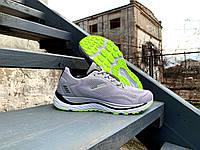 Мужские кроссовки BaaS Trend System Lightgrey/Lime светло-серые с салатовым