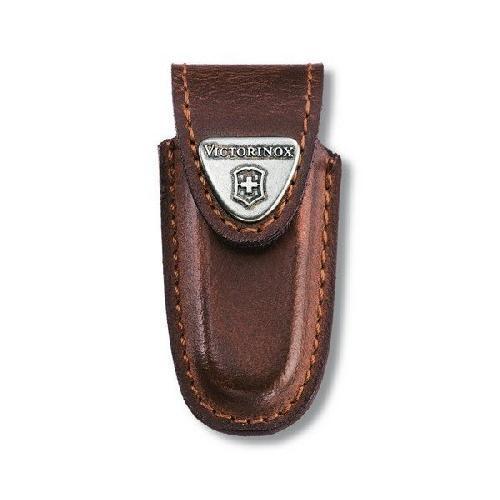 Чохол для ножів шкіряний Victorinox на липучці  2-4 шари 84-91мм (4.0533)
