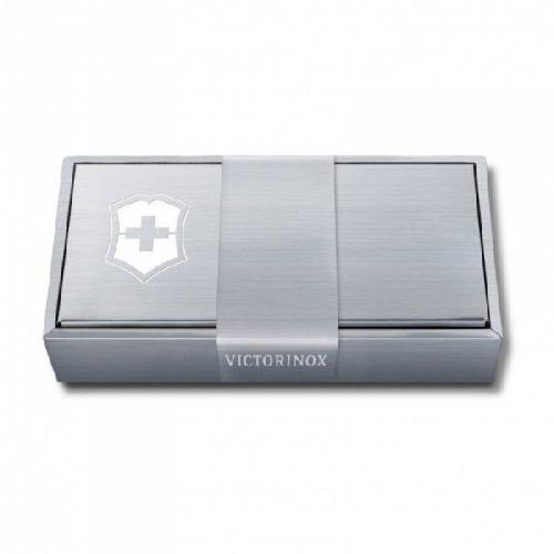Футляр для ножів Victorinox сріблястий 5 шарів  91мм (4.0289.1)