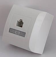 2216  LXL  TERRA  білий  Розетка комп'ютерна кат. 5Е