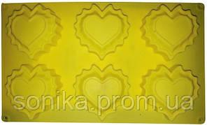 """Форма для випічки силіконова Empire """"Серце"""" 30*18*2,5 см EM-7185"""