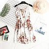 Короткое цветочное платье 42-44р, фото 2