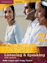 Книга Cambridge English Skills: Real Listening and Speaking 2 with Audio CDs and answers