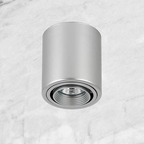 Серый точечный светильник с направлением света, фото 2