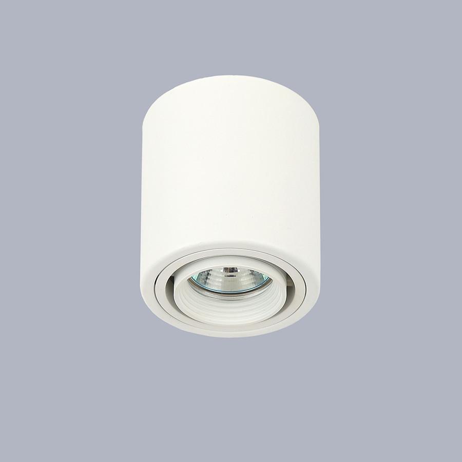 Белый точечный светильник с направлением света