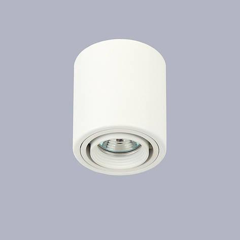 Белый точечный светильник с направлением света, фото 2