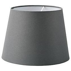 Абажур IKEA SKOTTORP, серый, 33 см 104.054.77