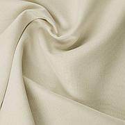 Декоративна однотонна тканина рогожка біла фактурна 300см 122000v2