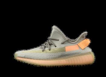 Мужские кроссовки adidas Yeezy 350 V2 Gray Orange (адидас) серые