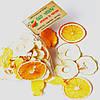 Фруктовые чипсы из яблок-35, апельсина-9 и манго-6, смесь 50 грамм
