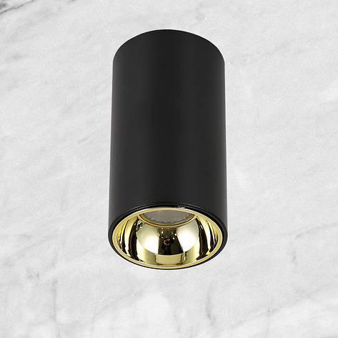 Чёрный светодиодный светильник с направлением света, фото 2
