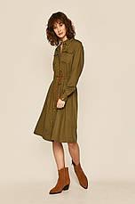 Платье миди хаки, фото 2