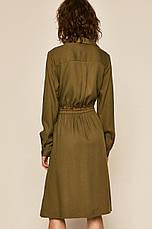 Платье миди хаки, фото 3