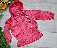 Куртка для девочки осень  весна код 2065  размеры на рост от 92 до 116 возраст от 1 года до 6 лет