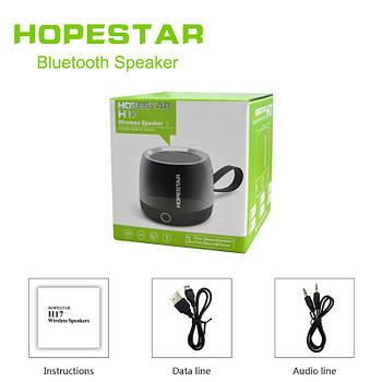 Портативная Bluetooth колонка Hopestar H17 (черная)