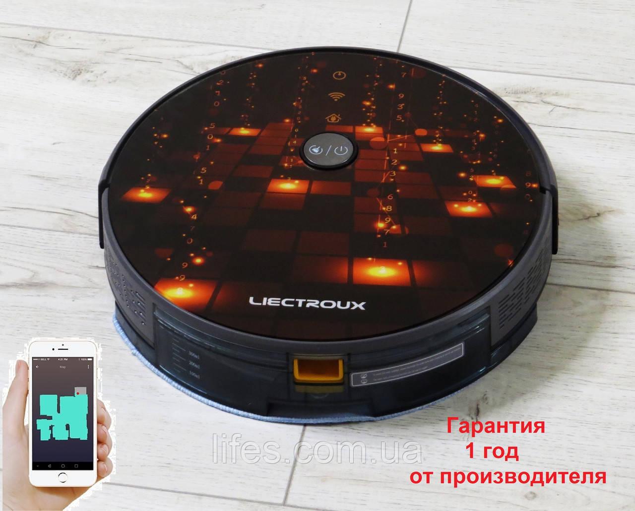 Робот - пылесос LIECTROUX C30B. Золотая матрица.  WI-FI. Немецкий бренд. Европейская версия. Модель 2020 года.