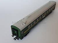 Heris80020Модель вагона пассажирского, купейный штабной , принадлежность СЖД, масштаба1:87,H0, фото 1