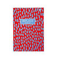 """Блокнот для записей YES """"REPLACE"""" в линию, А4, 96 листов, твердая обложка"""