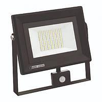 Прожектор LED HOROZ PARS 50W IP65 6500K з датчиком руху