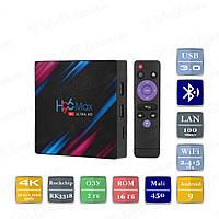 H96 MAX 2/16 Гб Smart TV Box ТВ приставка